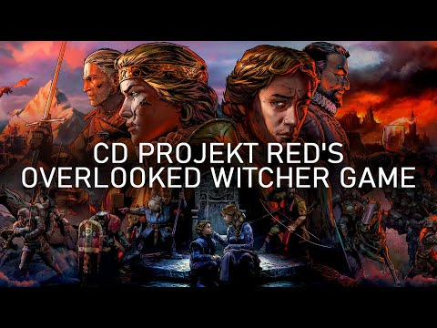 Examining CD Projekt Red's Overlooked Witcher Game (Thronebreaker: The Witcher Tales)