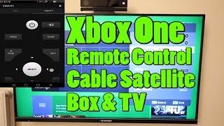 Xbox One app Remote Control Cable/Satellite Box & TV