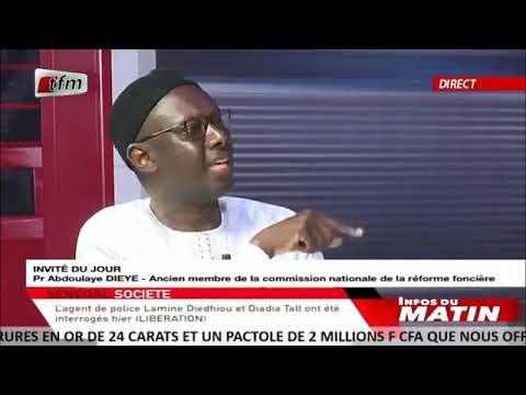 Pr Abdoulaye Diéye: « Il y'aura toujours des conflits sur le foncier… »