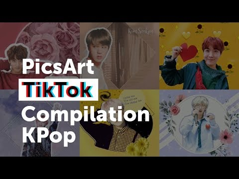 K-Pop + PicsArt + TikTok =✨😍✨ - Create + Discover with PicsArt