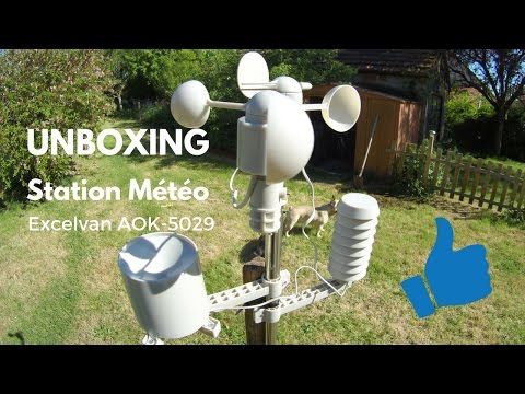 STATION METEO PRO EXCELVAN AOK-5029, SIMPLE MAIS EFFICACE