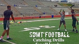 10 Awesome Football Catching Drills for all levels (Youth football, NCAA Football, NFL).