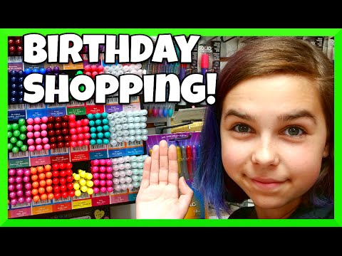 Shopping Art Supply Stores For My Birthday Present VLOG