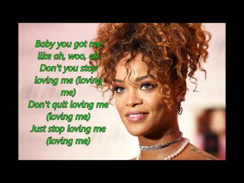 Rihanna – Love on the Brain (Lyrics) -...