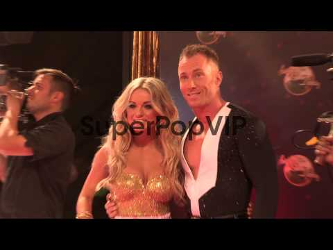 Ola Jordan at Strictly Come Dancing at Elstree Studios on...