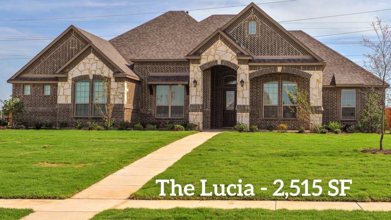 New Home Floor Plan The Lucia Lillian Custom Homes