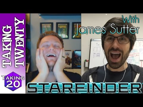 Paizo's James Sutter talks Starfinder - The Drift, Space Combat & Mechs??