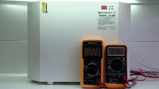 Стабилизатор напряжения Укртехнология НСН Norma 15000, симисторный, обзор