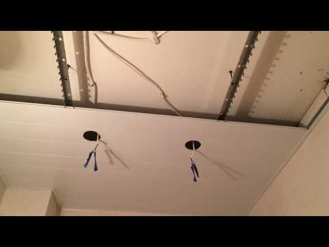 Алюминиевый реечный потолок.