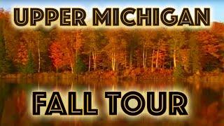 Michigan Upper Peninsula in Fall Season
