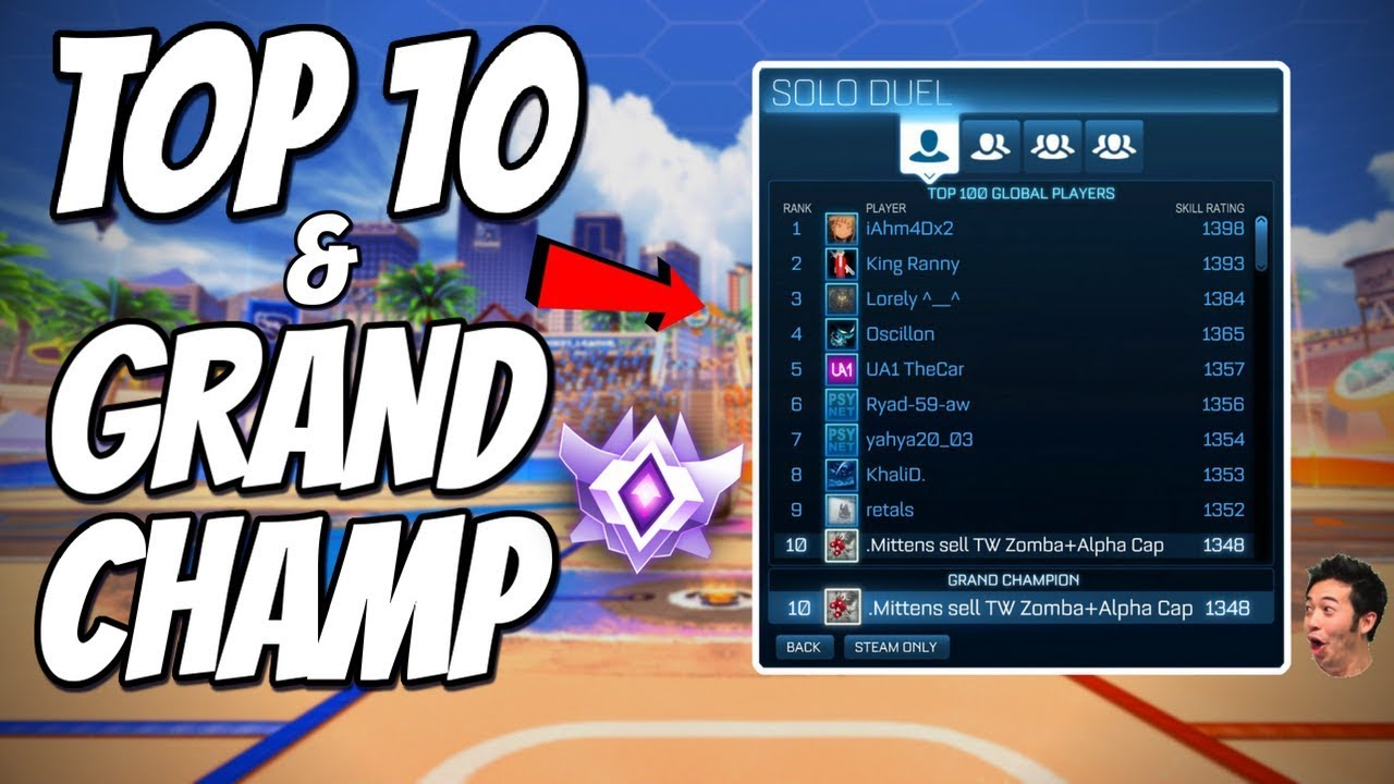 I REACHED TOP 10 GLOBAL & GRAND CHAMPION | Season 8: Day 2 (Rocket League  Gameplay)
