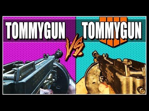 BO4 TOMMYGUN V.S BO3,BO2 TOMMYGUN - Call of Duty Zombies thumbnail