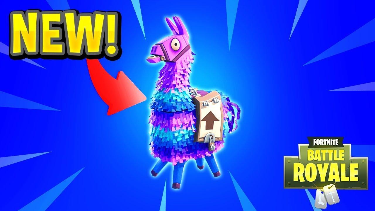 Fortnite loot llama background