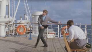 Танец Миронова на палубе.  Бриллиантовая рука