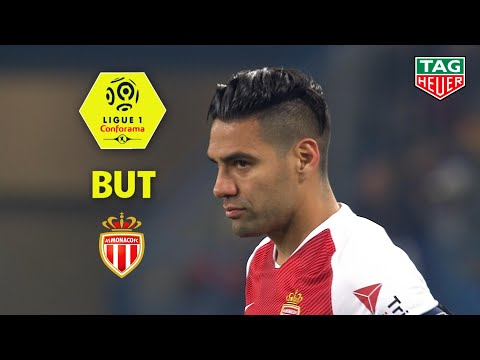 But Radamel FALCAO (55') / SM Caen - AS Monaco (0-1)  (SMC-ASM)/ 2018-19