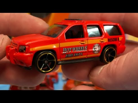 Hot Wheels Rip and Race Firetrucks featuring the Tahoe