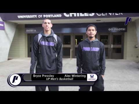 UP Men's Basketball - University of Portland Campus Tour