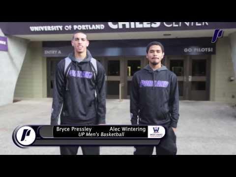 UP Men's Basketball - University of Portland Campus Tour