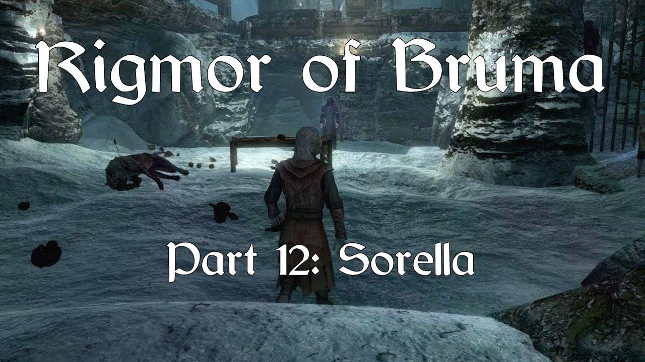 Skyrim SE  Rigmor of Bruma - Part 12: Sorella