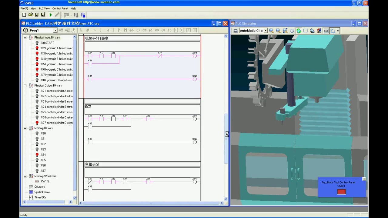 cnc atc plc [ 1280 x 720 Pixel ]