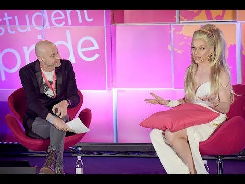 #QueerAF Podcast | Evan Davis and Courtney Act - National Student Pride 2018