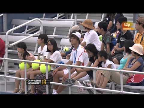 Marcel Granollers vs Kei Nishikori (ATP Masters 1000 Cincinnati 2012) Partido Completo