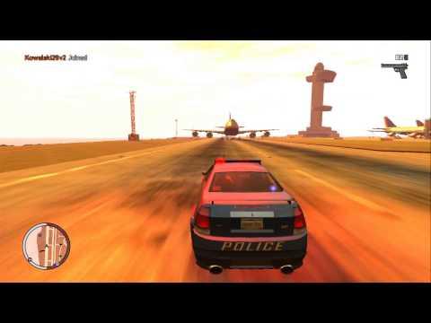 GTA IV Police Stinger Fun