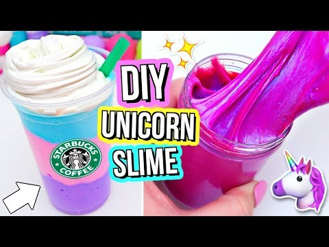 3 DIY UNICORN SLIMES! How To Make THE BEST Magical Unicorn Slime!