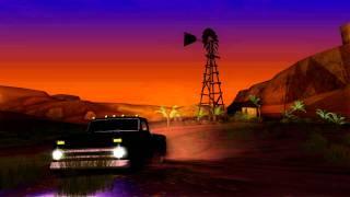 "GTA San Andreas. Chevrolet C10 ""Slamvan"" 1966, After the Sunset!. (HD)"