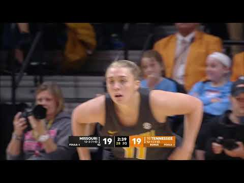 HIGHLIGHTS: MizzouWBB Downs No. 10 Tennessee