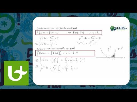 Integreren: de substitutiemethode from YouTube · Duration:  4 minutes 9 seconds