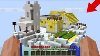 NOOB FOUND a VILLAGE IN the SKY in Minecraft! GOD'S VILLAGE! Noob vs Pro