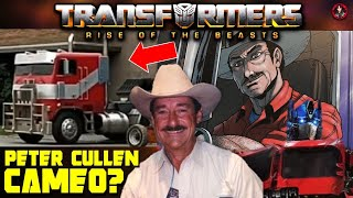 Will Peter Cullen Finally Cameo In Transformers Rise of the Beasts Movie?