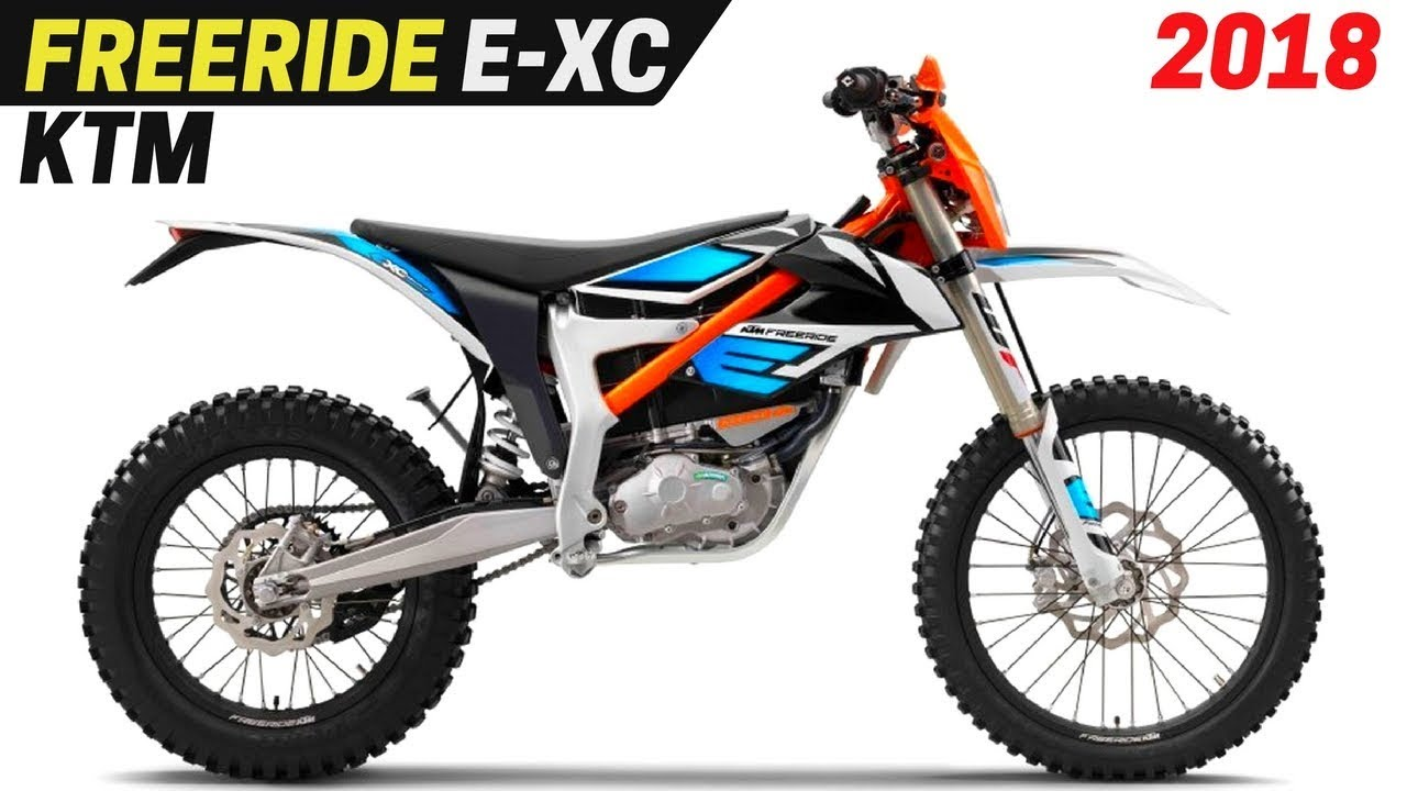 new 2018 ktm freeride e xc electric enduro comes with a significant change youtube. Black Bedroom Furniture Sets. Home Design Ideas