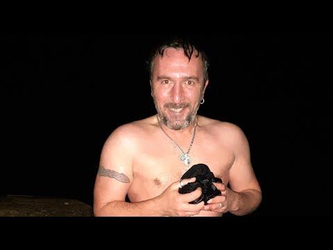 Александр Sandro Кирьяков: Крещенский сочельник. Окунание в море. 18 января 2020
