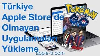 Türkiye Apple Store'da Olmayan Uygulamaları Yükleme