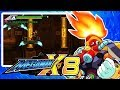 Megaman X8 Burn Rooster Stage 100 % Complete