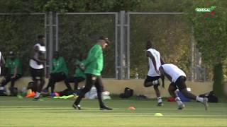 Demi finale CAN 2019: Galop d'entrainement des Lions du Sénégal