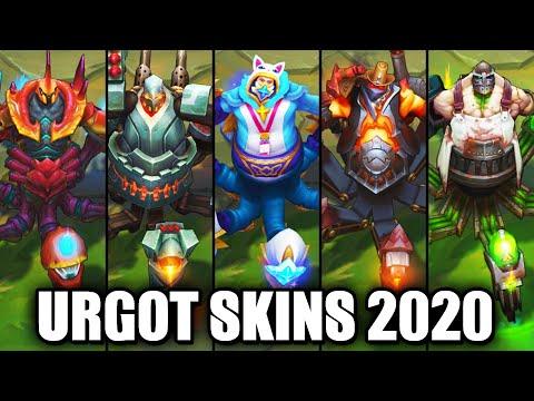 All Urgot Skins Spotlight 2020 (League of Legends)