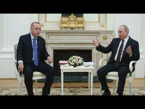 Cumhurbaşkanı Erdoğan Moskova'da: Kritik İdlib zirvesinde ikili görüşme sona erdi