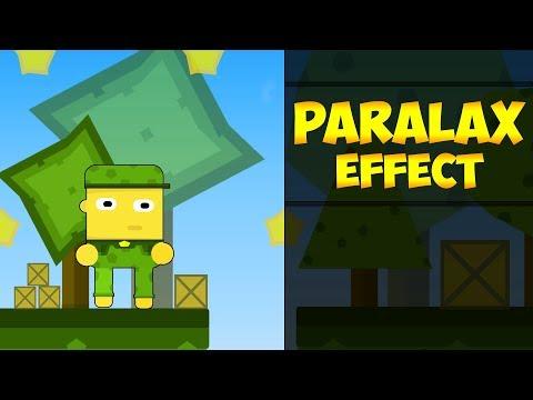 Parallax Effect (Паралакс Эффект) В Unity | Урок Unity