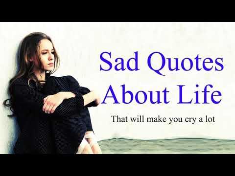 sad quotes about life sad life quotes - 1280×720