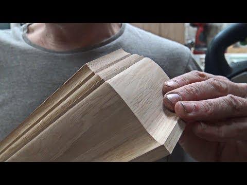 Комод часть 7/17. Превращаем сосну в дуб. Цоколь и задняя стенка.