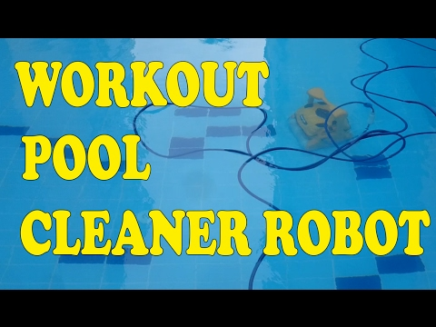 Workout Automatic Pool Cleaner Robot