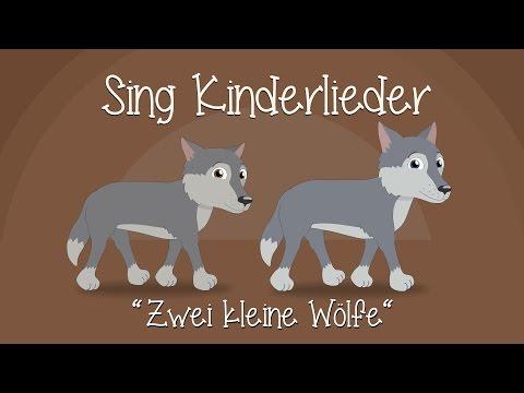 Zwei kleine Wölfe - Kinderlieder zum Mitsingen | Sing Kinderlieder