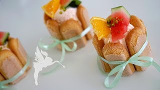 Orangen Mousse Desserts - No Bake Orangen Mousse Törtchen - Sommer Dessert - Kuchenfee