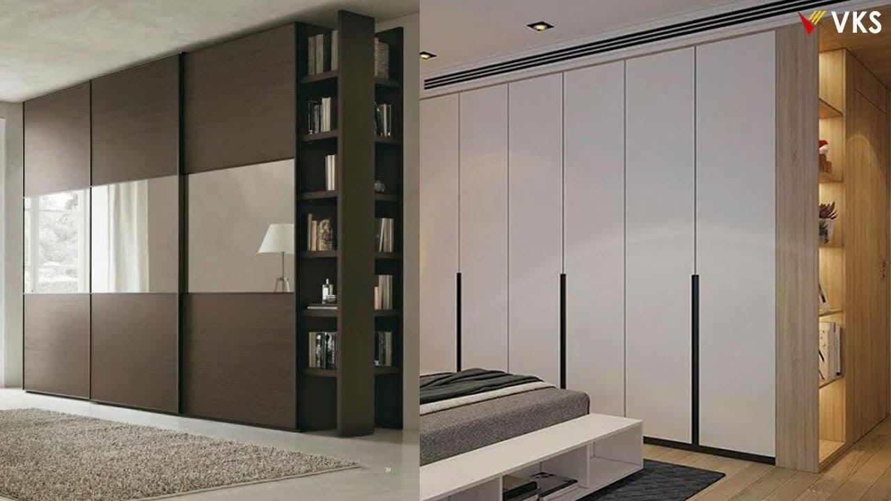 Modern Wardrobe Cupboard Interior Design Bedroom Closet Kit Wooden Almirah Youtube
