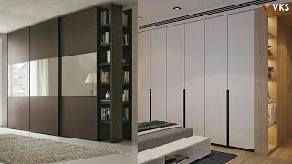 Modern Wardrobe Cupboard Interior Design | Bedroom Cupboard Closet Kit | Wooden Almirah Design