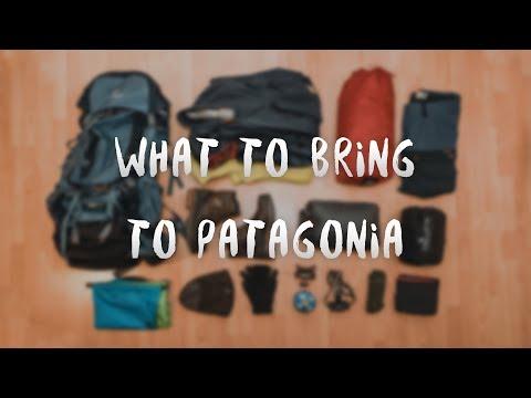 What to bring to Patagonia