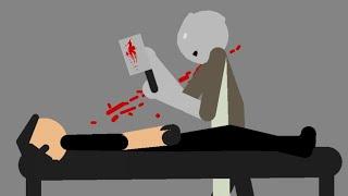 Psychopath Hunt (Game Over / Bad Ending) - Stick Nodes Horror Animation